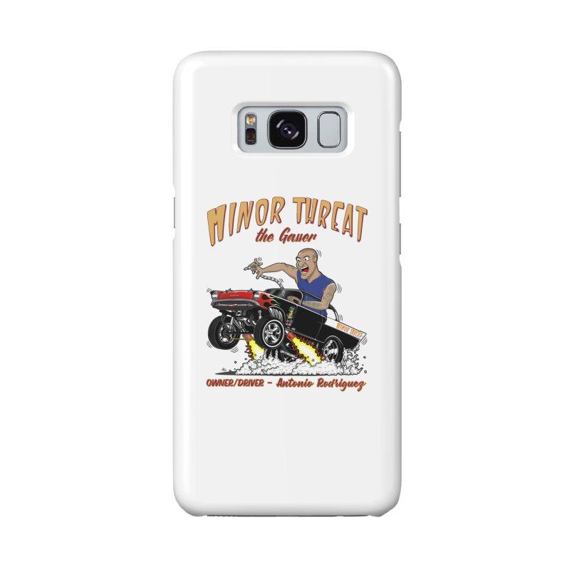 57 Gasser MINOR THREAT, rev 2.0 Accessories Phone Case by screamnjimmy's Artist Shop