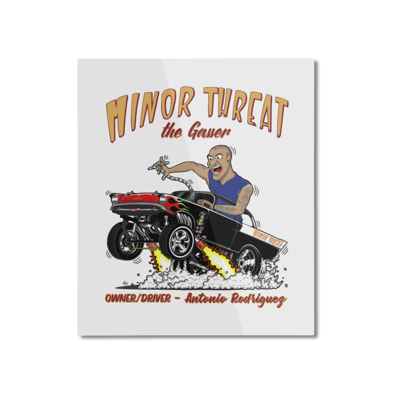 57 Gasser MINOR THREAT, rev 2.0 Home Mounted Aluminum Print by screamnjimmy's Artist Shop