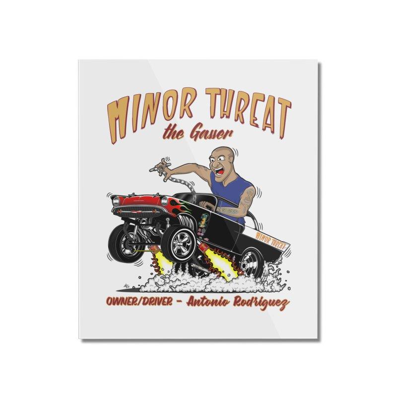 57 Gasser MINOR THREAT, rev 2.0 Home Mounted Acrylic Print by screamnjimmy's Artist Shop