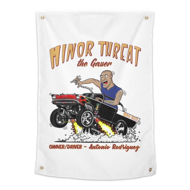 57 Gasser MINOR THREAT, rev 2.0 Home Tapestry by screamnjimmy's Artist Shop