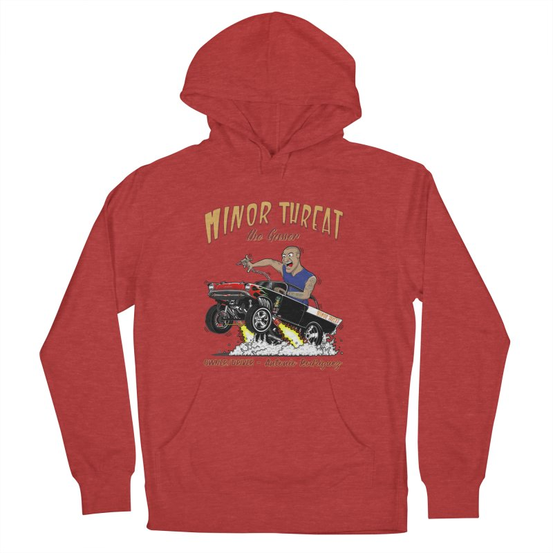 57 Gasser MINOR THREAT, rev 2.0 Women's French Terry Pullover Hoody by screamnjimmy's Artist Shop