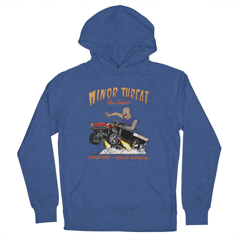 57 Gasser MINOR THREAT, rev 2.0 Men's French Terry Pullover Hoody by screamnjimmy's Artist Shop