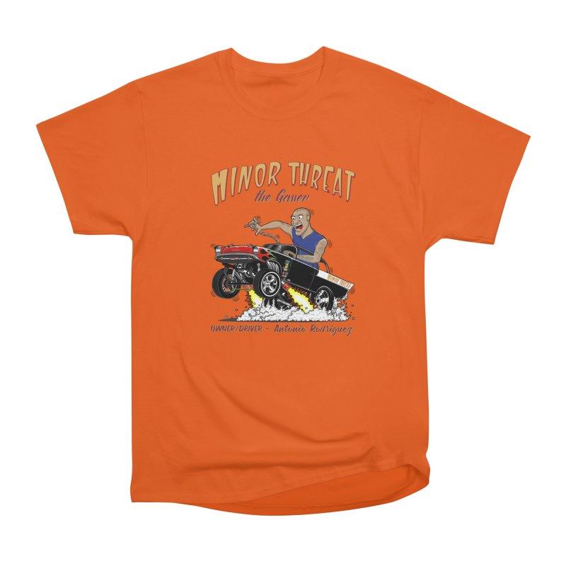 57 Gasser MINOR THREAT, rev 2.0 Men's Heavyweight T-Shirt by screamnjimmy's Artist Shop