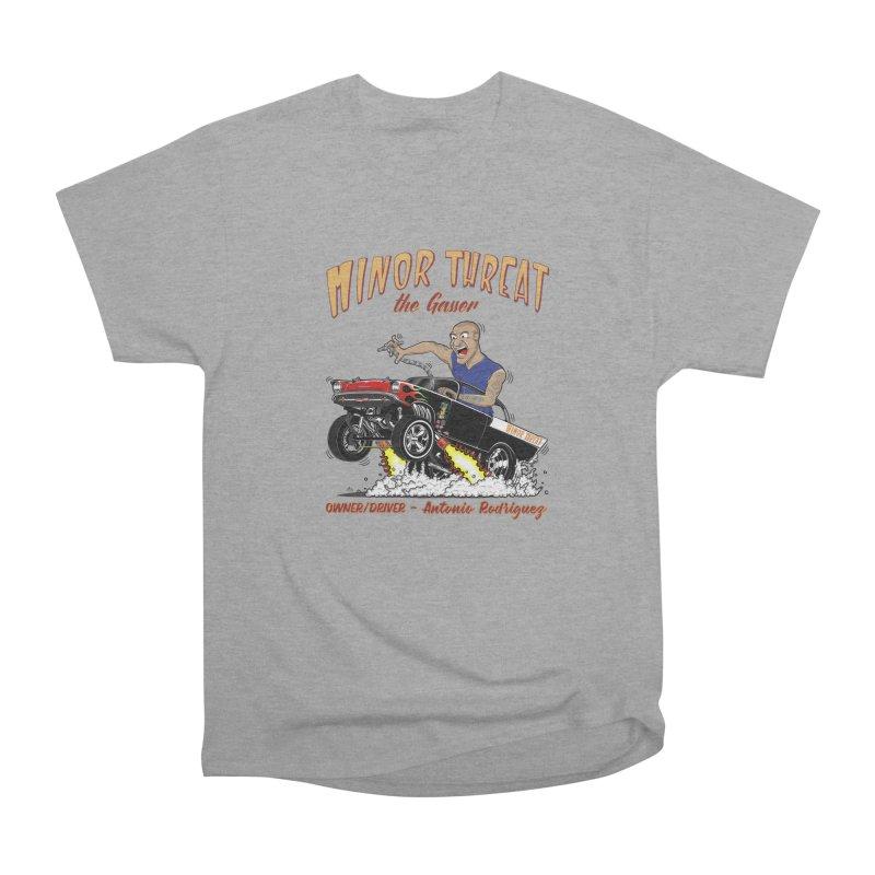 57 Gasser MINOR THREAT, rev 2.0 Women's Heavyweight Unisex T-Shirt by screamnjimmy's Artist Shop