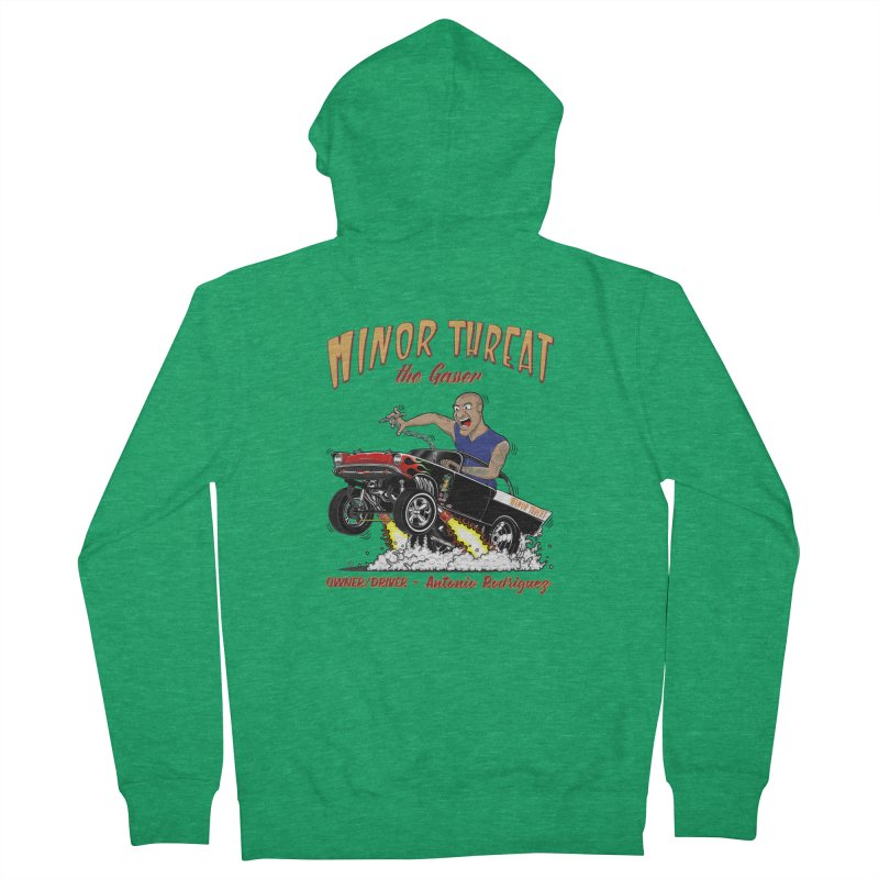 57 Gasser MINOR THREAT, rev 2.0 Men's Zip-Up Hoody by screamnjimmy's Artist Shop