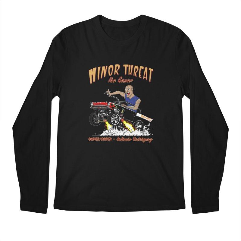 57 Gasser MINOR THREAT, rev 2.0 Men's Longsleeve T-Shirt by screamnjimmy's Artist Shop