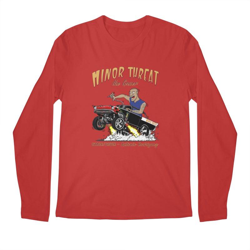 57 Gasser MINOR THREAT, rev 2.0 Men's Regular Longsleeve T-Shirt by screamnjimmy's Artist Shop