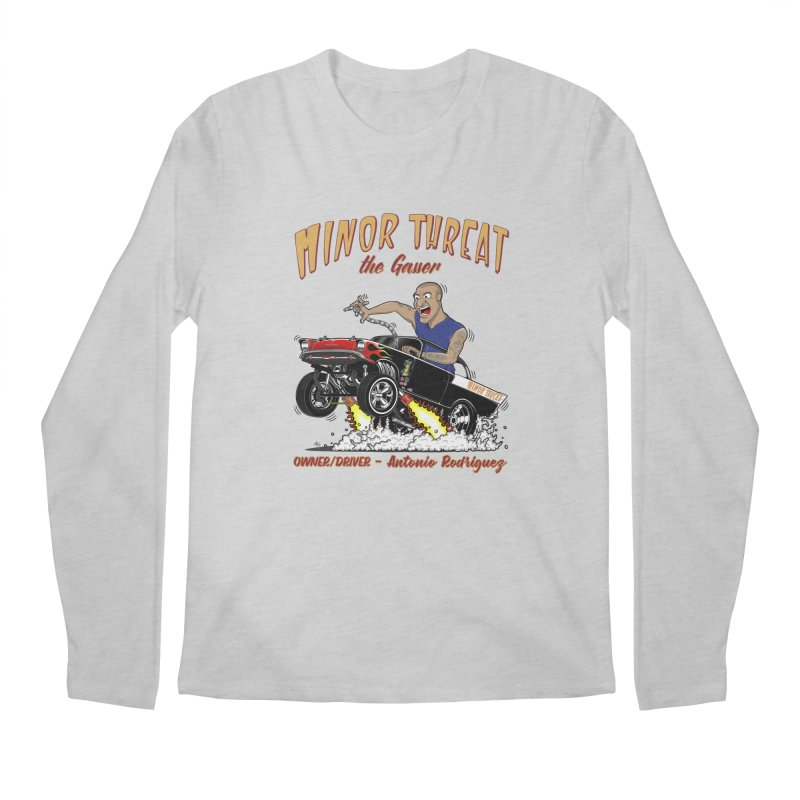57 Gasser MINOR THREAT, rev 2.0 Men's Regular Longsleeve T-Shirt by screamnjimmy's Artist Shop