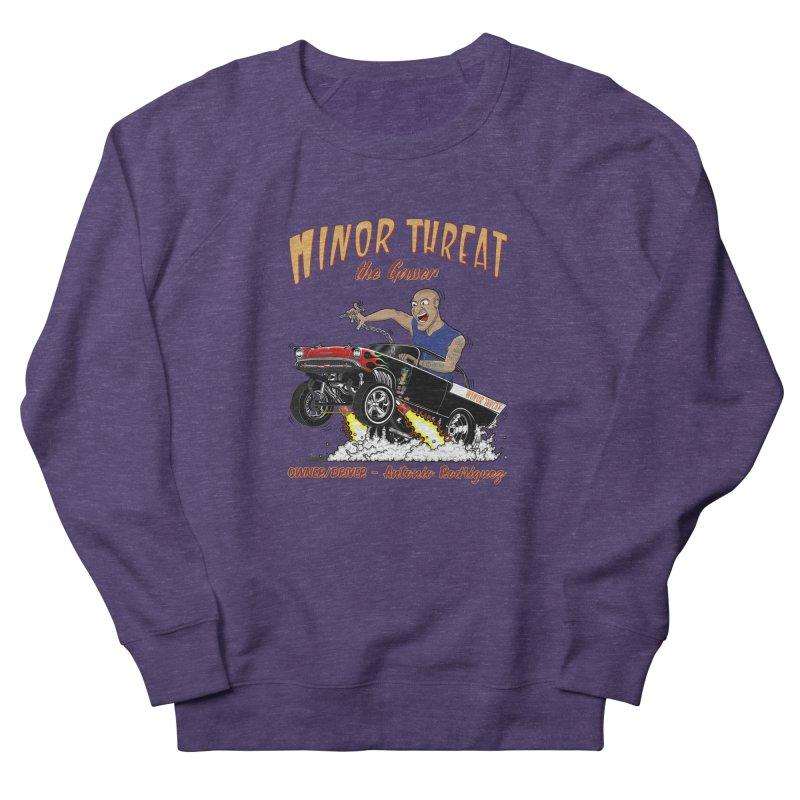 57 Gasser MINOR THREAT, rev 2.0 Women's French Terry Sweatshirt by screamnjimmy's Artist Shop