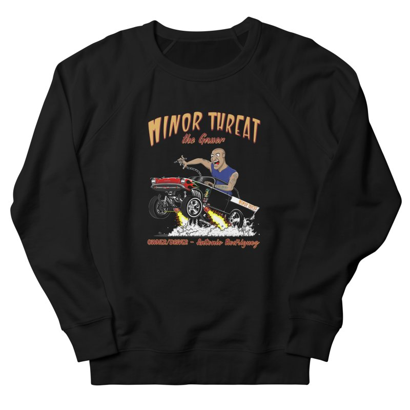 57 Gasser MINOR THREAT, rev 2.0 Women's French Terry Sweatshirt by screamnjimmy's Artist Shop