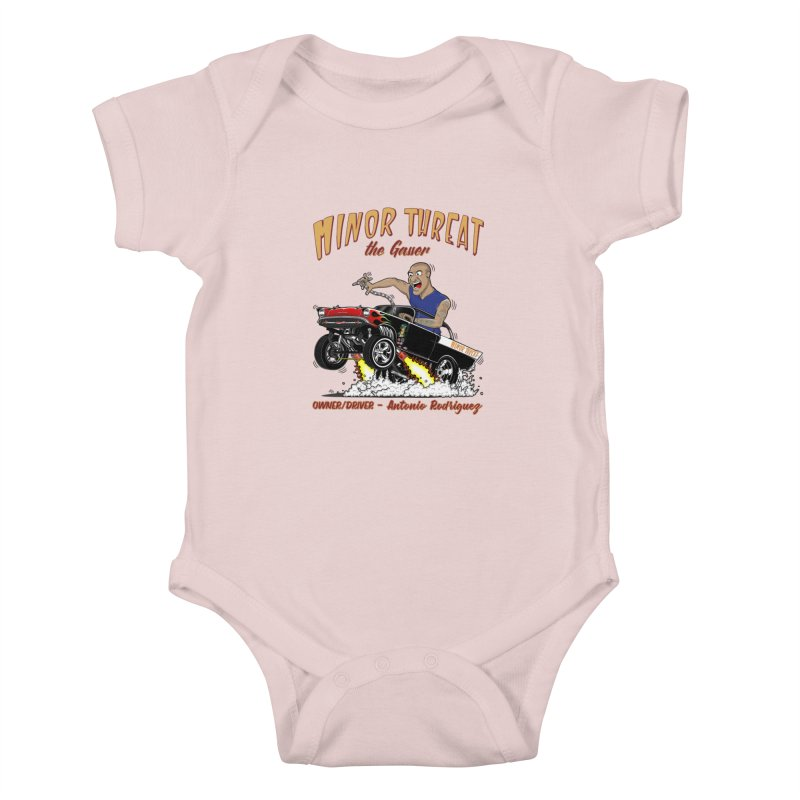 57 Gasser MINOR THREAT, rev 2.0 Kids Baby Bodysuit by screamnjimmy's Artist Shop
