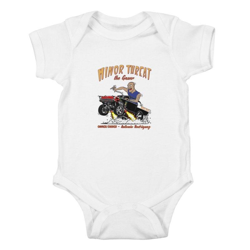 57 Gasser MINOR THREAT, rev 2.0 Kids Baby Bodysuit by screamnjimmy's Artist Shop