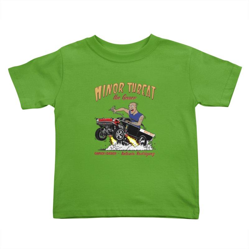 57 Gasser MINOR THREAT, rev 2.0 Kids Toddler T-Shirt by screamnjimmy's Artist Shop