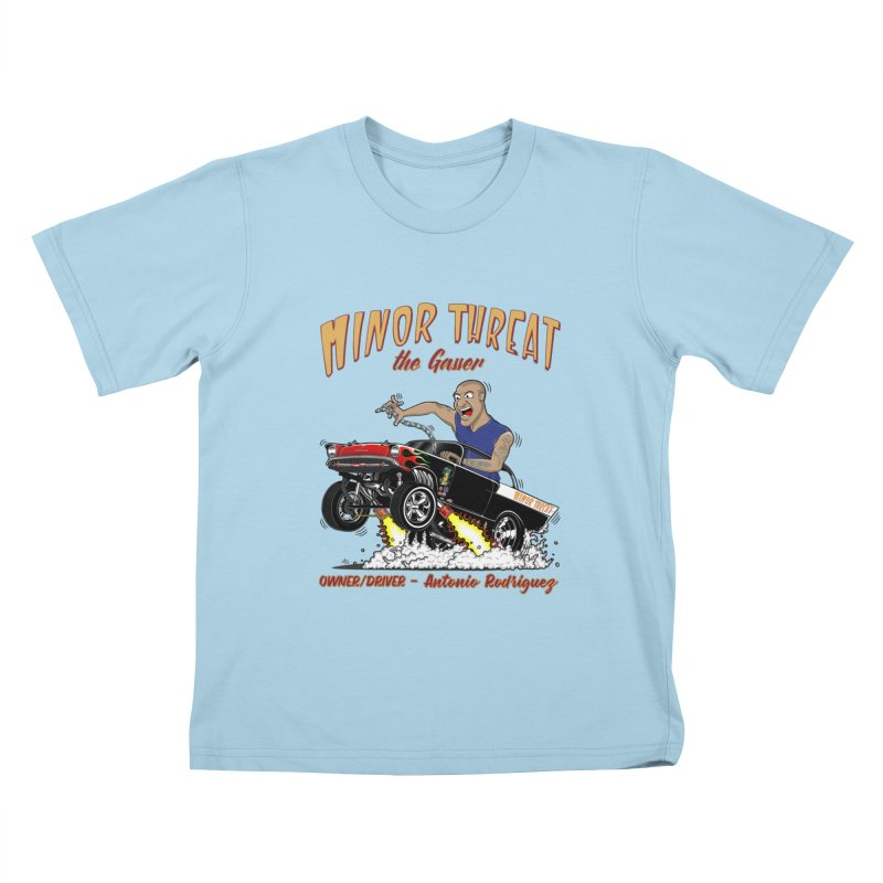 57 Gasser MINOR THREAT, rev 2.0 Kids T-Shirt by screamnjimmy's Artist Shop