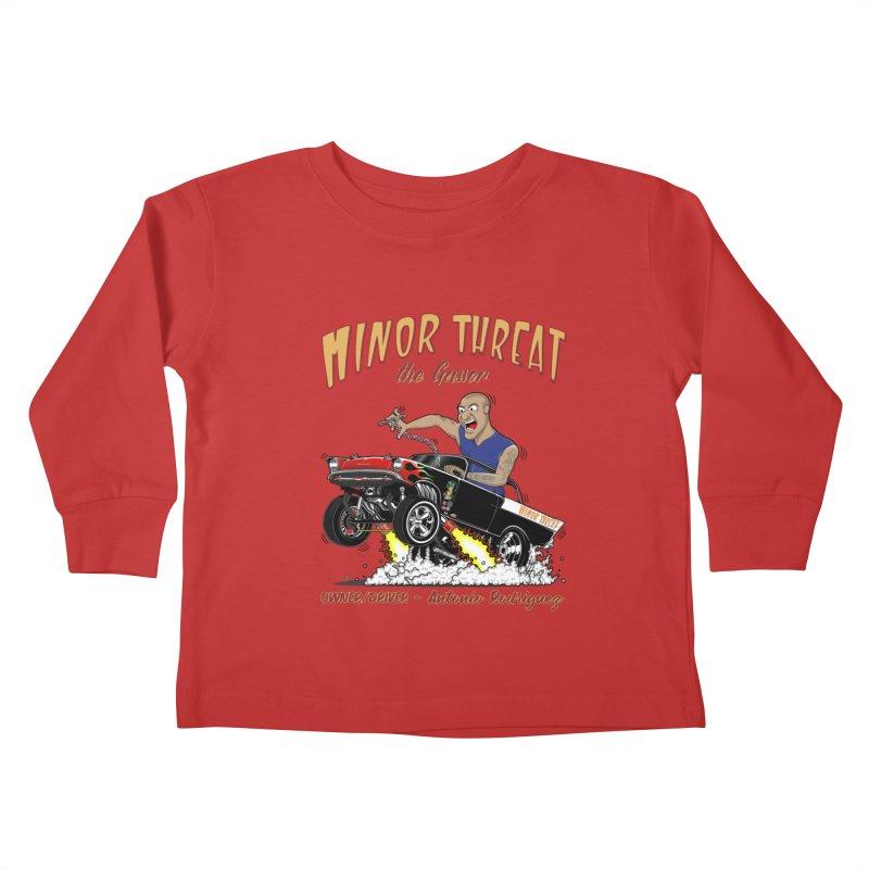 57 Gasser MINOR THREAT, rev 2.0 Kids Toddler Longsleeve T-Shirt by screamnjimmy's Artist Shop