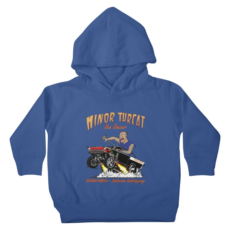 57 Gasser MINOR THREAT, rev 2.0 Kids Toddler Pullover Hoody by screamnjimmy's Artist Shop