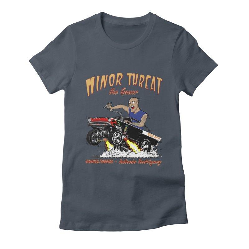 57 Gasser MINOR THREAT, rev 2.0 Women's T-Shirt by screamnjimmy's Artist Shop