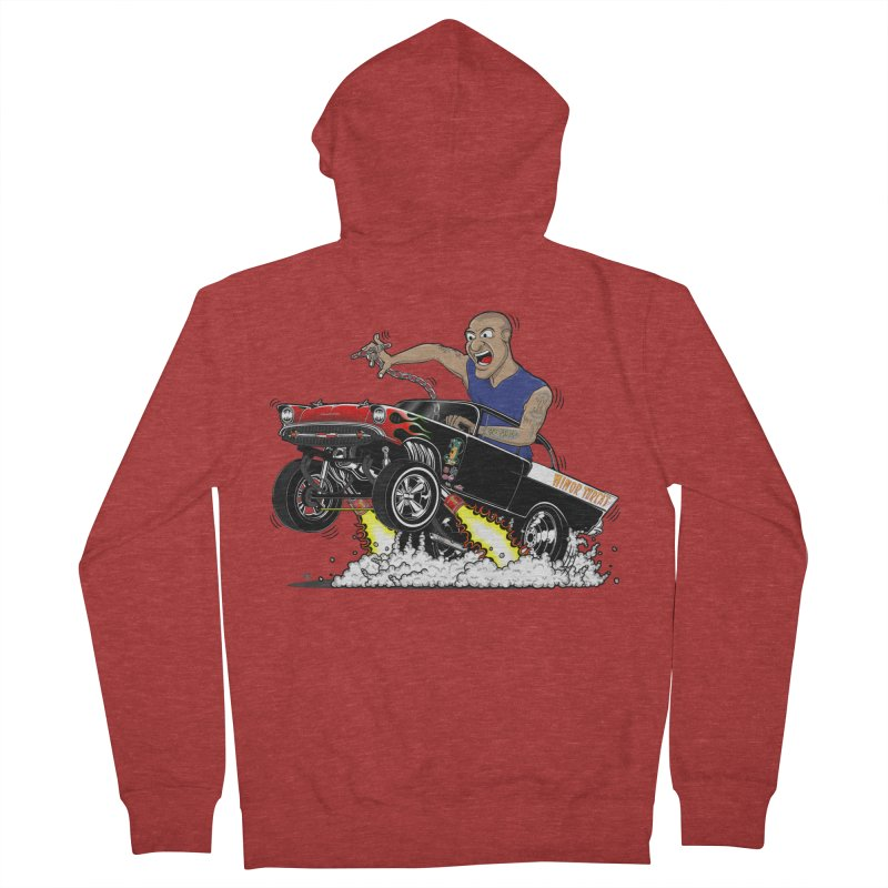 57 Gasser MINOR THREAT, rev 1.0 Men's Zip-Up Hoody by screamnjimmy's Artist Shop