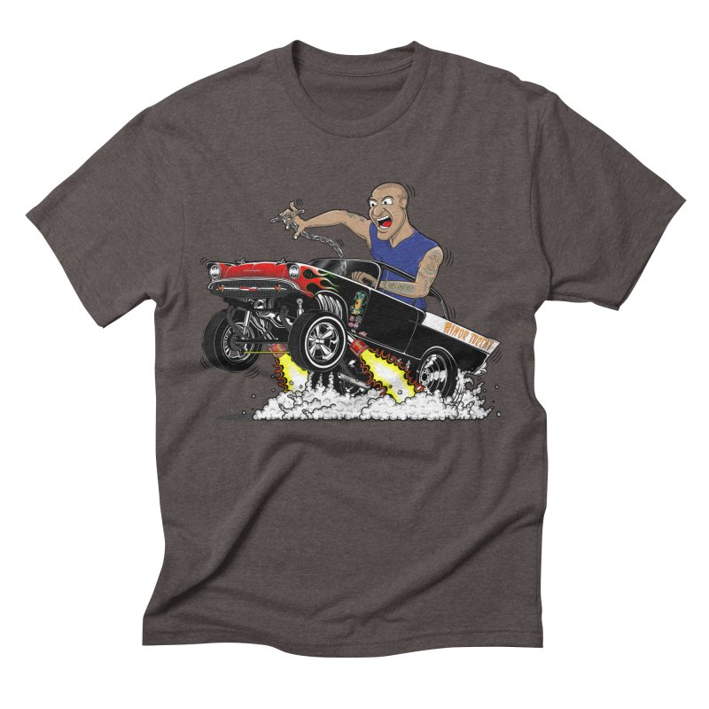 57 Gasser MINOR THREAT, rev 1.0 Men's Triblend T-Shirt by screamnjimmy's Artist Shop