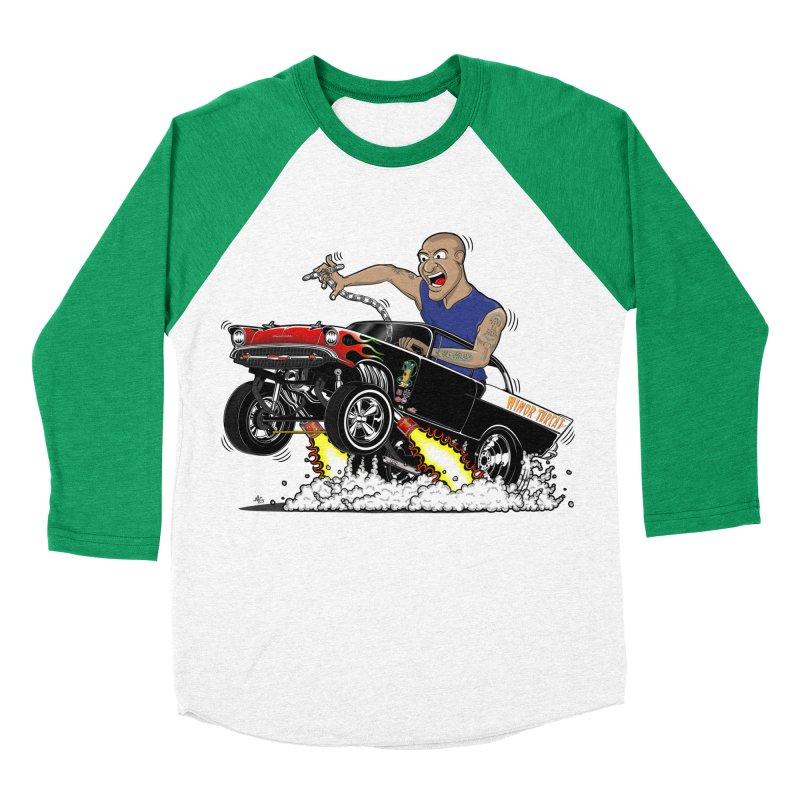 57 Gasser MINOR THREAT, rev 1.0 Men's Baseball Triblend T-Shirt by screamnjimmy's Artist Shop