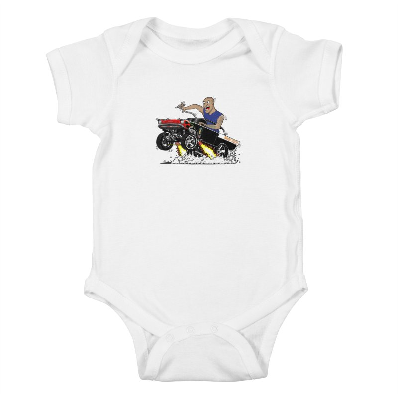 57 Gasser MINOR THREAT, rev 1.0 Kids Baby Bodysuit by screamnjimmy's Artist Shop