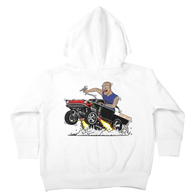 57 Gasser MINOR THREAT, rev 1.0 Kids Toddler Zip-Up Hoody by screamnjimmy's Artist Shop