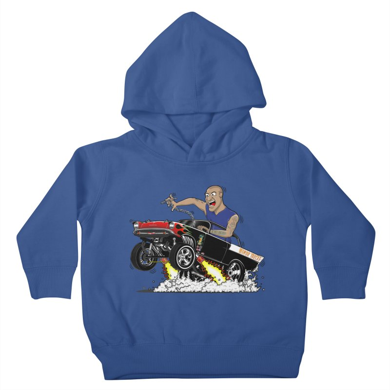 57 Gasser MINOR THREAT, rev 1.0 Kids Toddler Pullover Hoody by screamnjimmy's Artist Shop