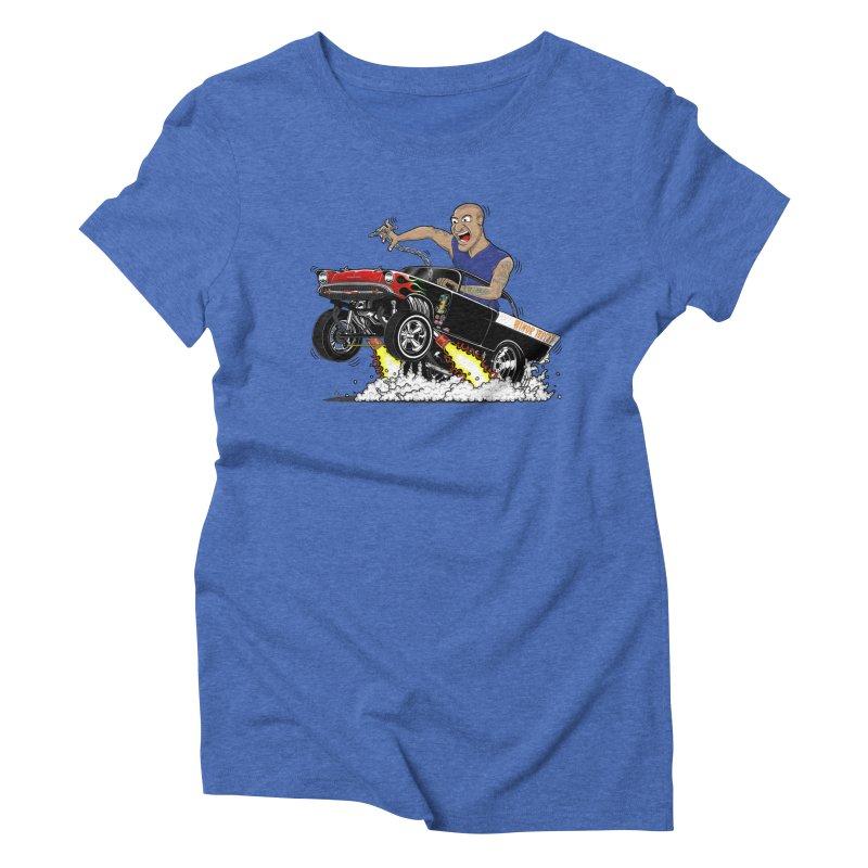 57 Gasser MINOR THREAT, rev 1.0 Women's Triblend T-Shirt by screamnjimmy's Artist Shop