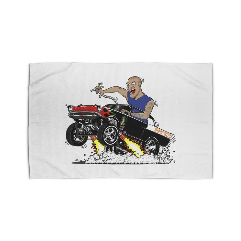 57 Gasser MINOR THREAT, rev 1.0 Home Rug by screamnjimmy's Artist Shop