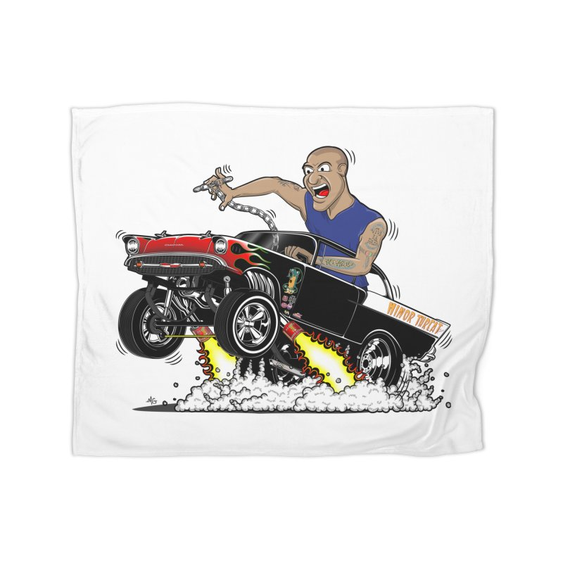 57 Gasser MINOR THREAT, rev 1.0 Home Blanket by screamnjimmy's Artist Shop