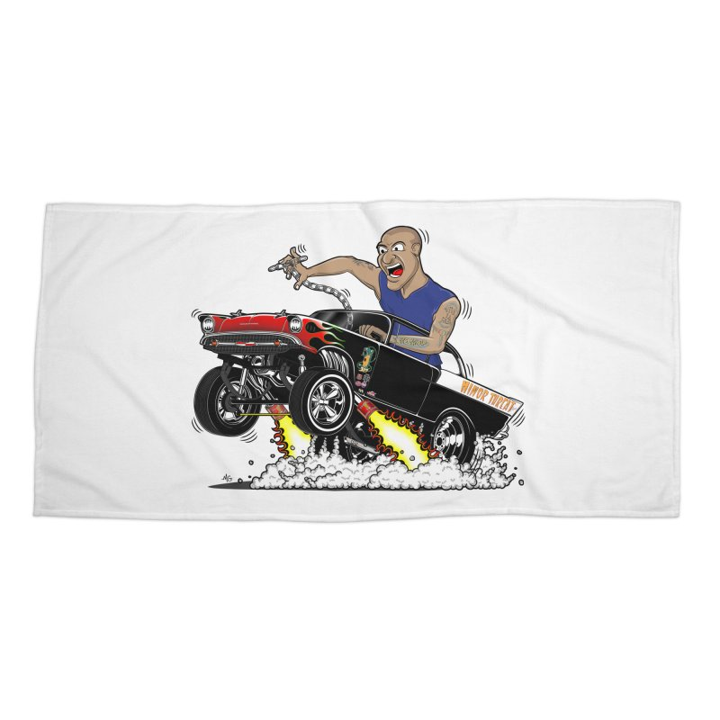 57 Gasser MINOR THREAT, rev 1.0 Accessories Beach Towel by screamnjimmy's Artist Shop