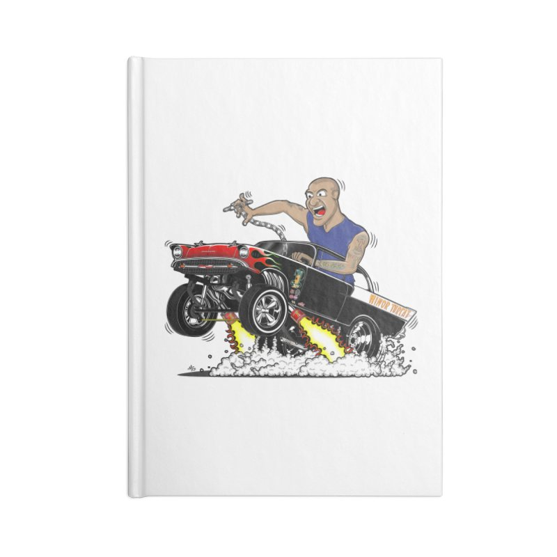 57 Gasser MINOR THREAT, rev 1.0 Accessories Lined Journal Notebook by screamnjimmy's Artist Shop