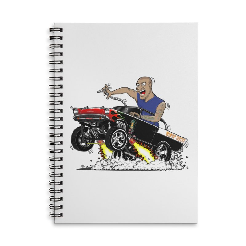 57 Gasser MINOR THREAT, rev 1.0 Accessories Lined Spiral Notebook by screamnjimmy's Artist Shop