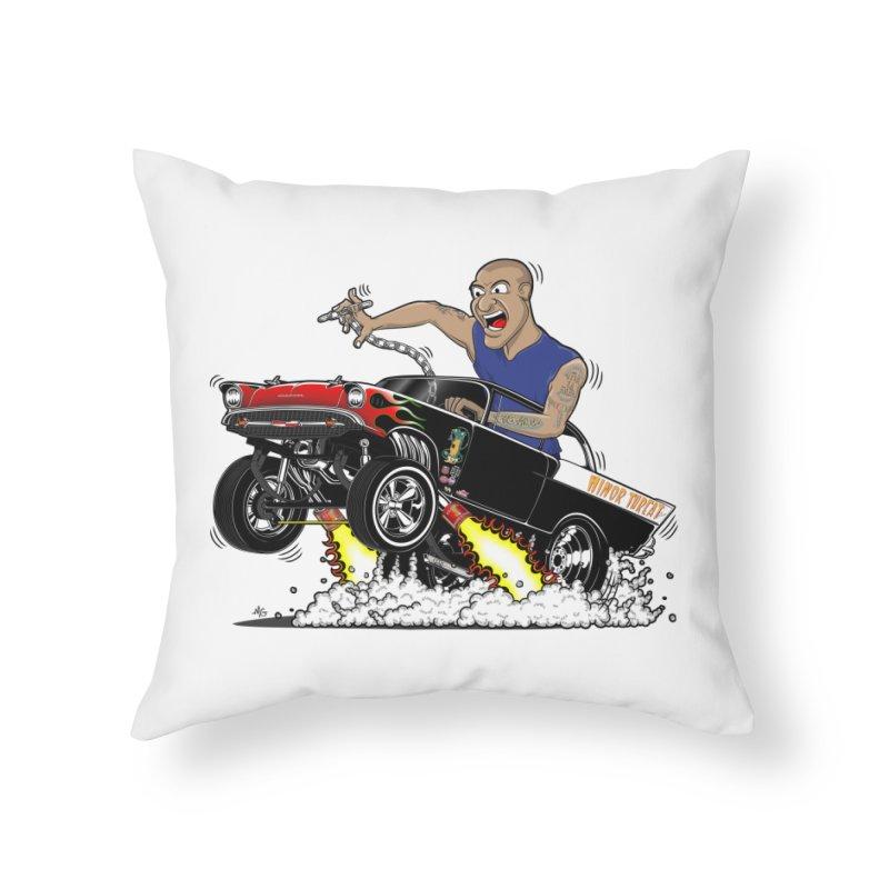 57 Gasser MINOR THREAT, rev 1.0 Home Throw Pillow by screamnjimmy's Artist Shop