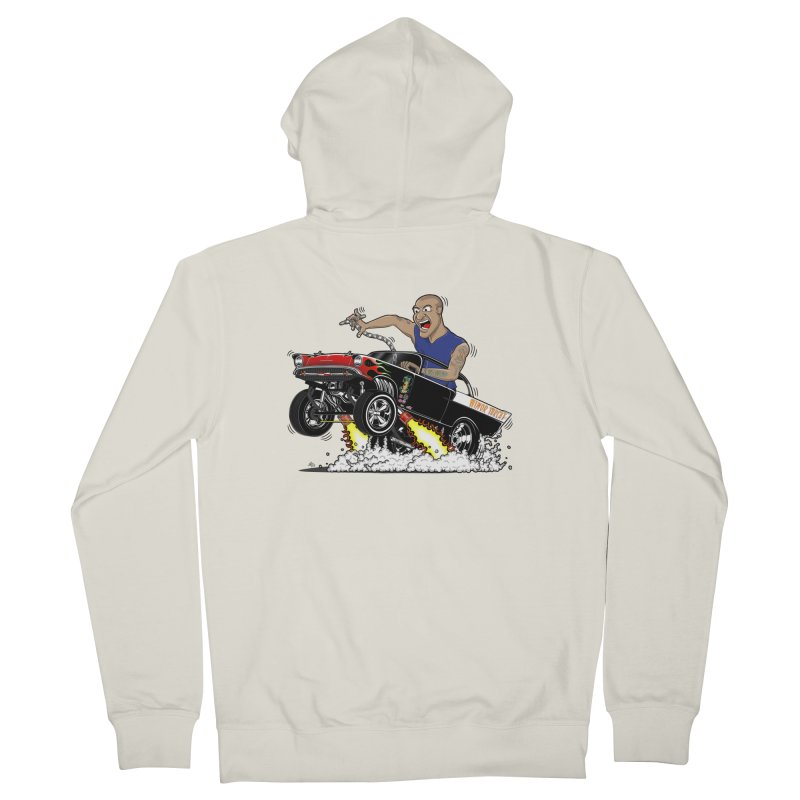 57 Gasser MINOR THREAT, rev 1.0 Women's French Terry Zip-Up Hoody by screamnjimmy's Artist Shop