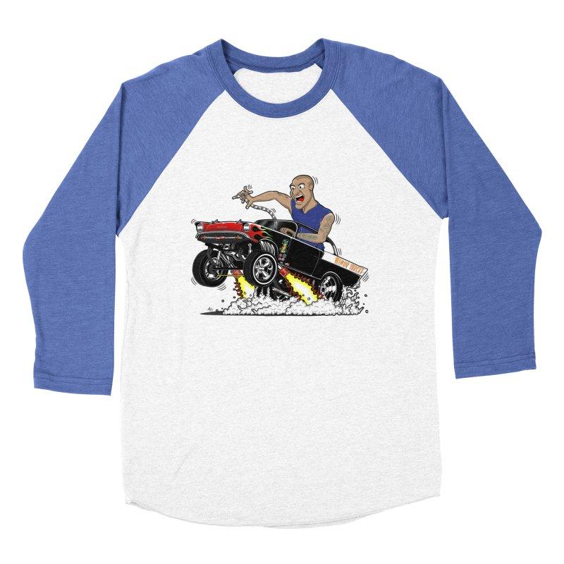 57 Gasser MINOR THREAT, rev 1.0 Women's Baseball Triblend Longsleeve T-Shirt by screamnjimmy's Artist Shop