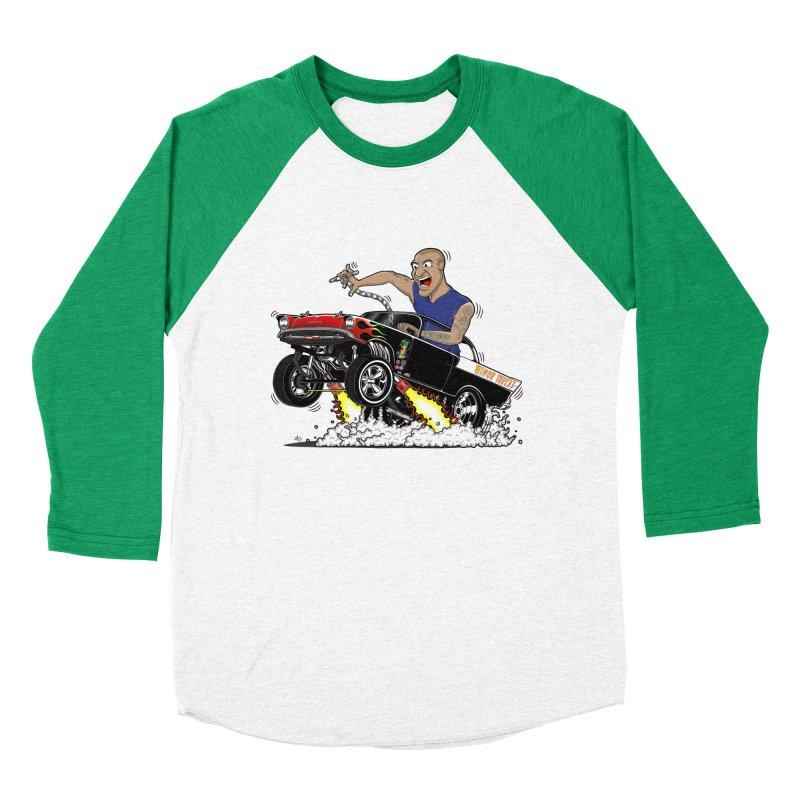 57 Gasser MINOR THREAT, rev 1.0 Men's Baseball Triblend Longsleeve T-Shirt by screamnjimmy's Artist Shop