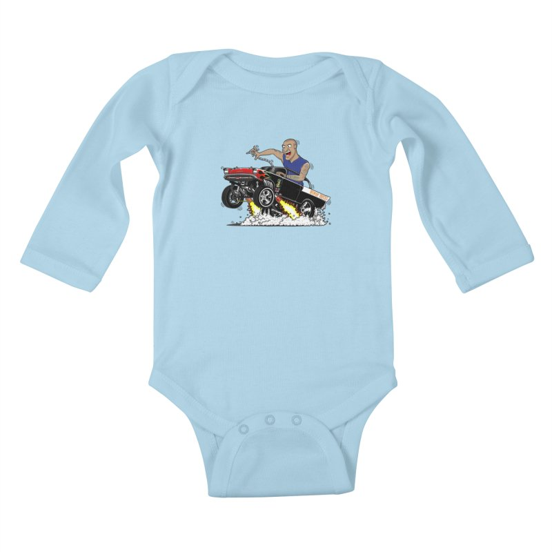 57 Gasser MINOR THREAT, rev 1.0 Kids Baby Longsleeve Bodysuit by screamnjimmy's Artist Shop
