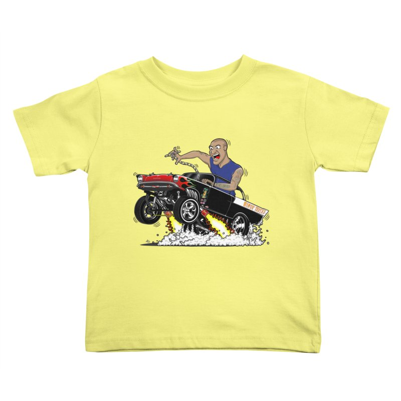 57 Gasser MINOR THREAT, rev 1.0 Kids Toddler T-Shirt by screamnjimmy's Artist Shop