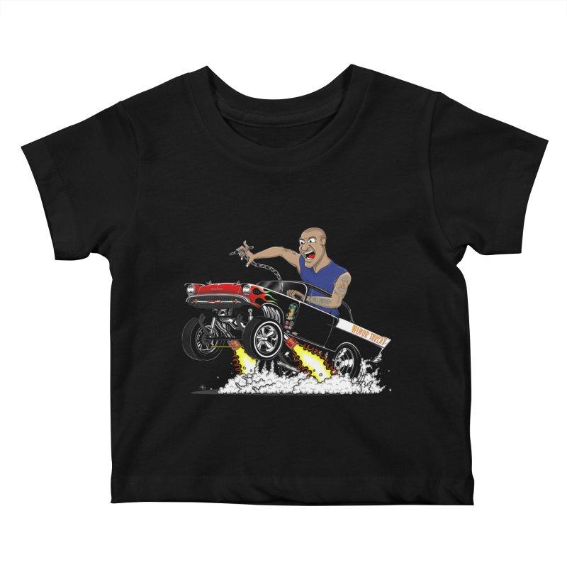 57 Gasser MINOR THREAT, rev 1.0 Kids Baby T-Shirt by screamnjimmy's Artist Shop