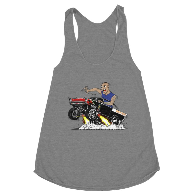 57 Gasser MINOR THREAT, rev 1.0 Women's Racerback Triblend Tank by screamnjimmy's Artist Shop