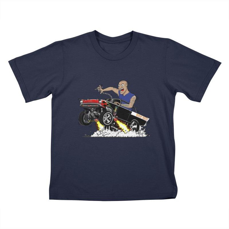 57 Gasser MINOR THREAT, rev 1.0 Kids T-Shirt by screamnjimmy's Artist Shop