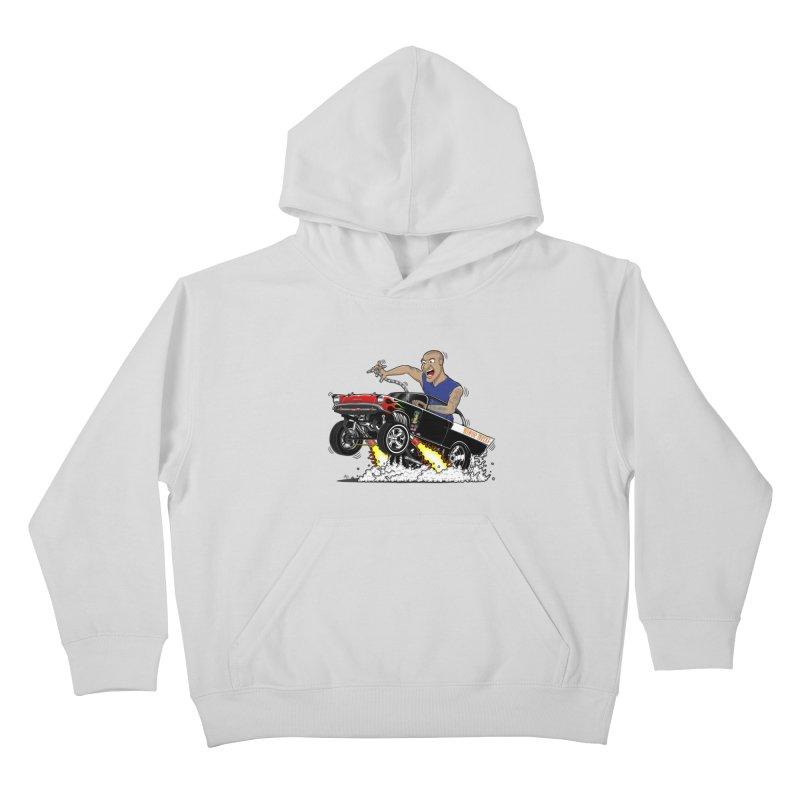 57 Gasser MINOR THREAT, rev 1.0 Kids Pullover Hoody by screamnjimmy's Artist Shop