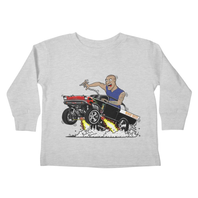57 Gasser MINOR THREAT, rev 1.0 Kids Toddler Longsleeve T-Shirt by screamnjimmy's Artist Shop