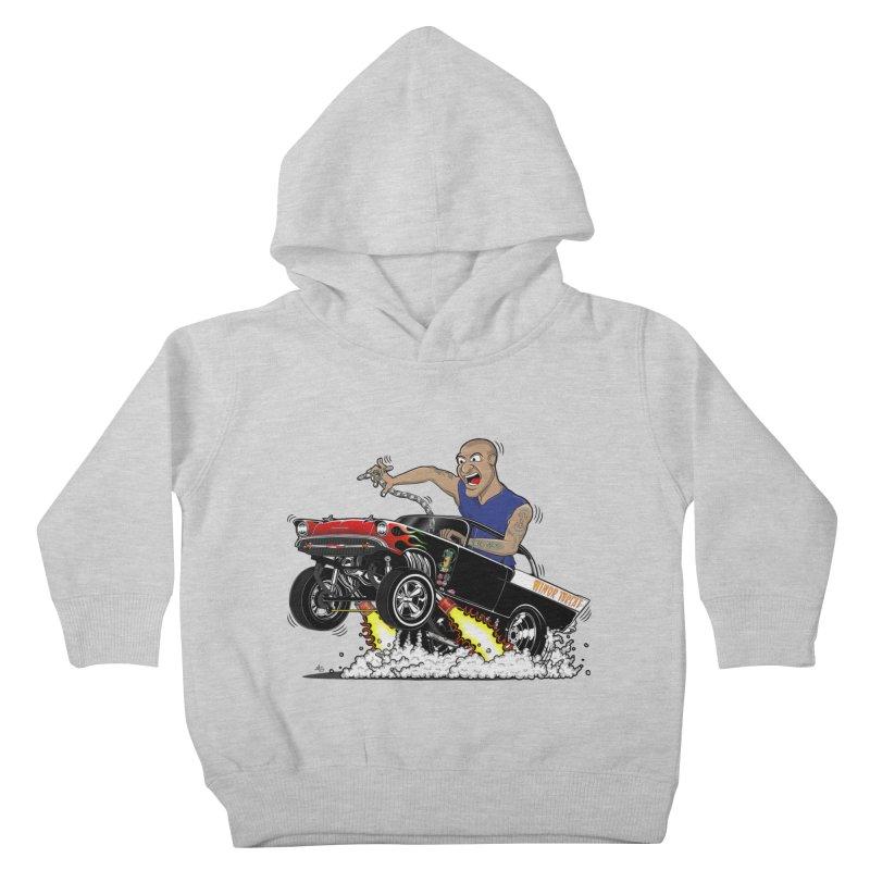 57 Gasser MINOR THREAT, rev 1.0 Kids Toddler Pullover Hoody by screamnjimmy's Artist Shop