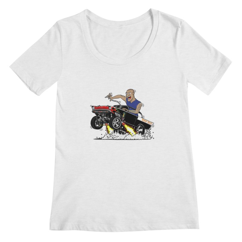 57 Gasser MINOR THREAT, rev 1.0 Women's Regular Scoop Neck by screamnjimmy's Artist Shop