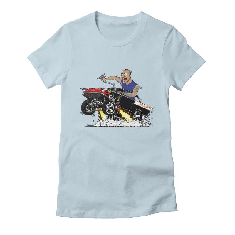 57 Gasser MINOR THREAT, rev 1.0 Women's Fitted T-Shirt by screamnjimmy's Artist Shop