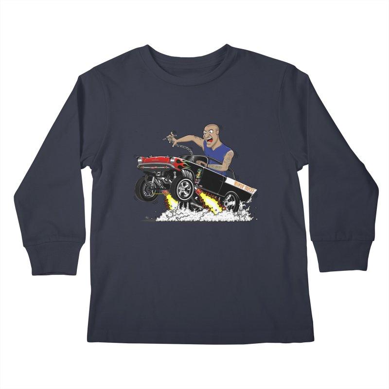 57 Gasser MINOR THREAT, rev 1.0 Kids Longsleeve T-Shirt by screamnjimmy's Artist Shop