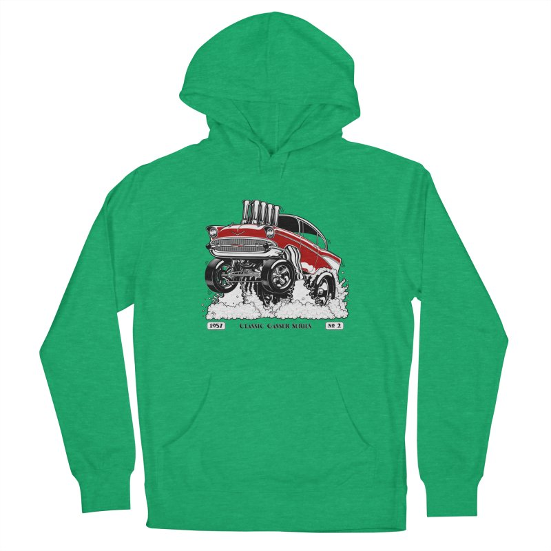 57 Classic Gasser - Clean Red Men's Pullover Hoody by screamnjimmy's Artist Shop