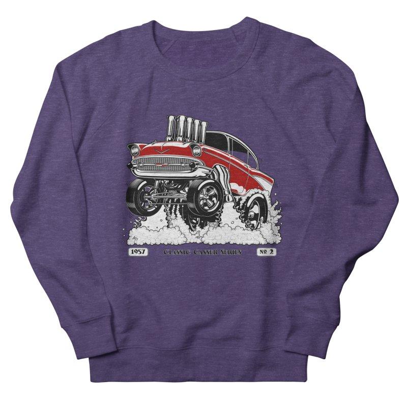 57 Classic Gasser - Clean Red Men's Sweatshirt by screamnjimmy's Artist Shop